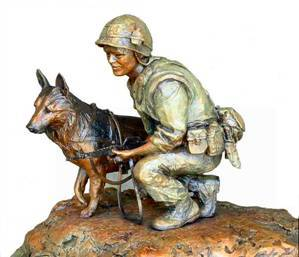 366th SPS K-9 Handlers of Da Nang